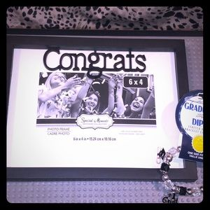 Special Moments Memories Collection Congrats Frame